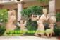砂岩雕塑 泰式人物雕塑 东南亚雕塑小品摆件