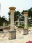 罗马柱 砂岩罗马柱 酒店装饰柱子 人造石柱子 黄锈石方柱